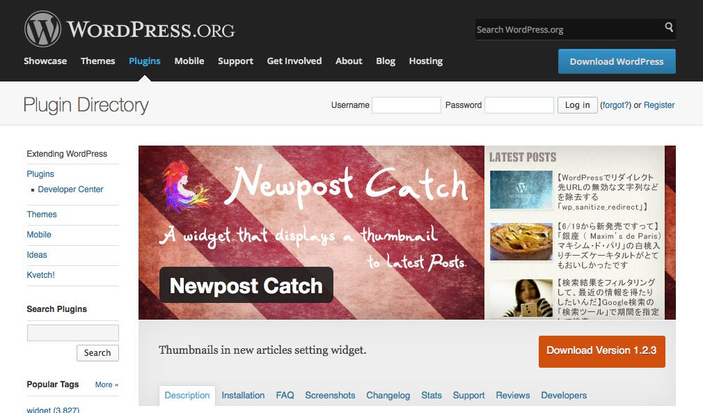 今さら聞けない、最新記事をサムネイル付きで表示するWordPressのプラグイン「Newpost Catch」のCSSを変更したい