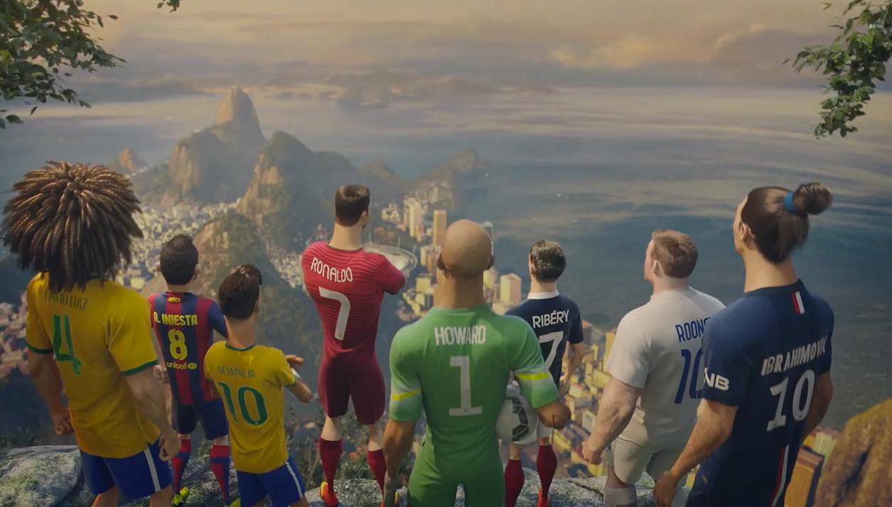 サッカーワールドカップ開催のこの時期話題の動画、NIKEのアニメーション・ムービー「The Last Game」