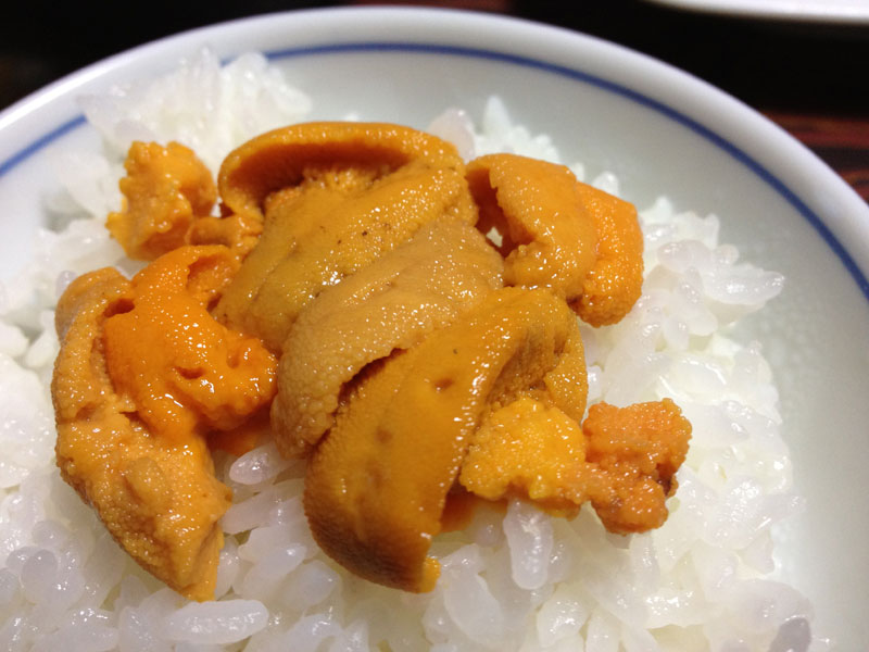 小樽産ウニの季節です〜地物とはいえさすがに気軽には食べられません