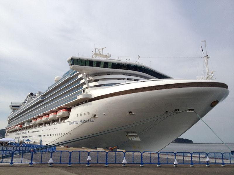【小樽】2014年度のクルーズ客船の小樽港への寄港は過去最多の延べ38回の予定
