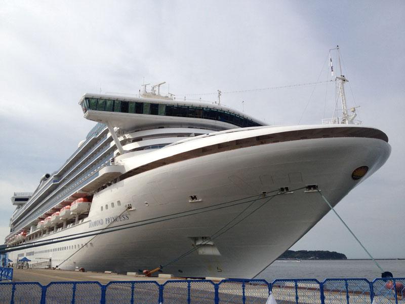 2015年の小樽港へのクルーズ客船の寄港は21回の予定