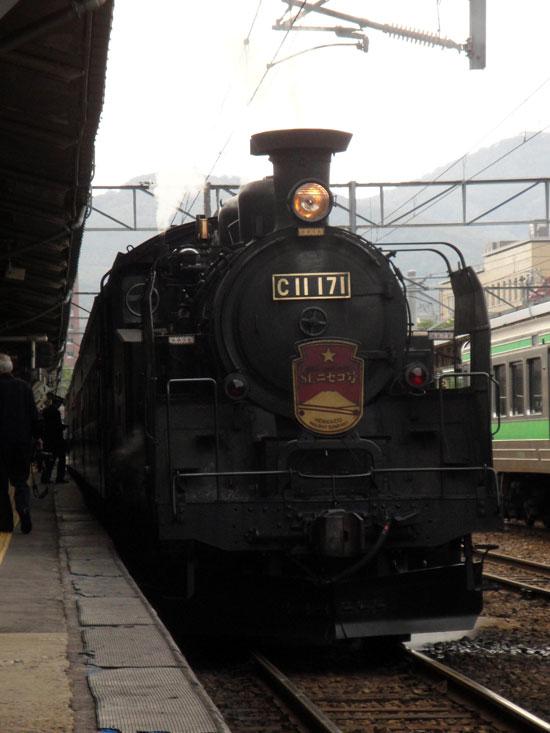JR北海道がSLニセコ号など3つのSLを2014年度いっぱいで廃止する方針というニュース