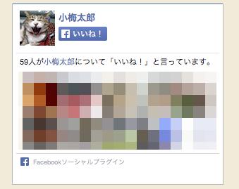今さら聞けない、FacebookページのLike boxの背景色が透明だったので白にしたいんですが