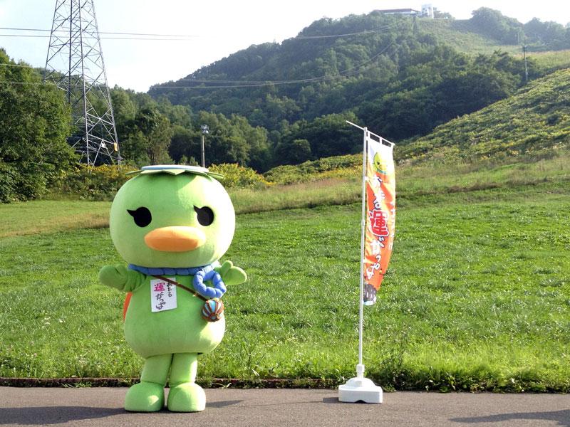 「ゆるキャラグランプリ2014」投票スタート〜地元小樽の人気ご当地キャラクター「おたる運がっぱ」を応援中!