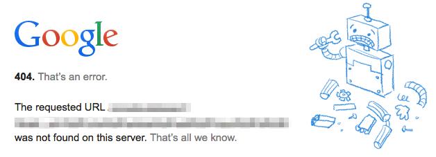 今さら聞けない、Seesaaブログの投稿時にGoogleから「404. That's an error.」と言われてしまうんですが【未解決】