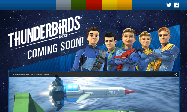Thunderbirds Are Goのサイトより