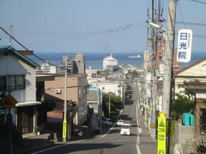 小樽船見坂