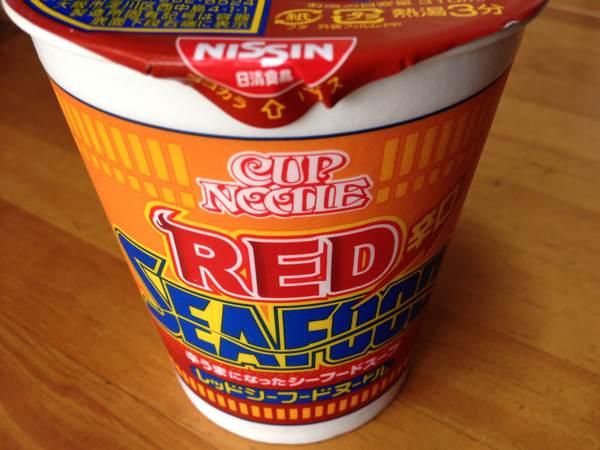 今さらですが、今や夏の定番・日清食品 「カップヌードル レッドシーフードヌードル」を食べました
