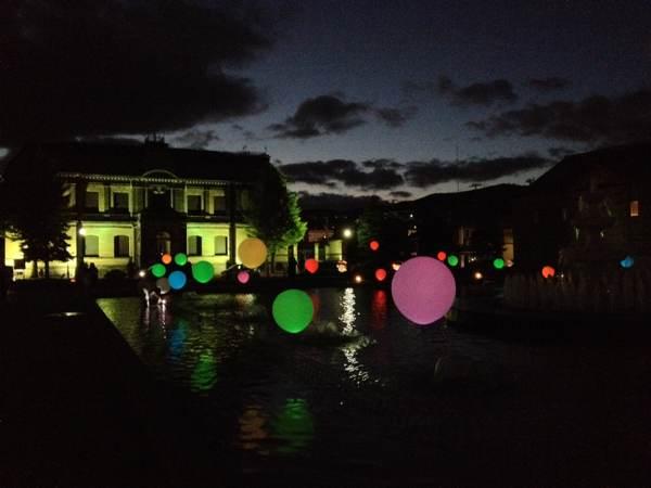 【動画】小樽の運河公園をメイン会場として開催されたイベント「北運河ルネサンス」での幻想的なイルミネーションバルーンの様子