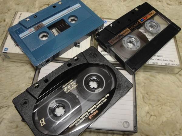 カセットテープの思い出話〜今も残っているのはわずかだけ