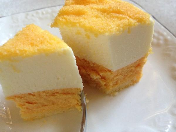 小樽の人気洋菓子店ルタオの期間限定「メロンドゥーブル~北海道産赤肉メロン~」はメロンの甘い香りが口いっぱいに広がる美味しさでした